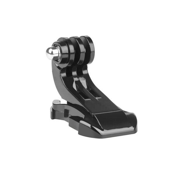 Disparar-2-piezas-pecho-Correa-montaje-frontal-del-casco-superficie-Vertical-j-gancho-hebilla-de-montaje